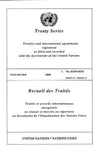 Cover Treaty Series 2542/Recueil des Traités 2542