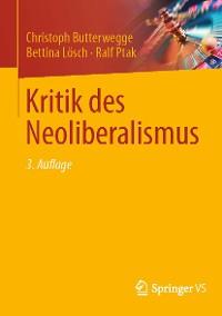 Cover Kritik des Neoliberalismus