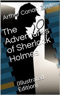 Cover Adventures of Sherlock Holmes / Illustrated