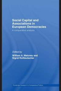 Cover Social Capital and Associations in European Democracies