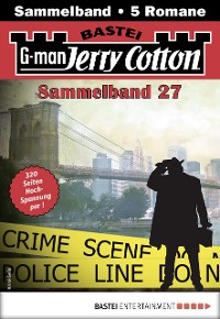 Cover Jerry Cotton Sammelband 27 - Krimi-Serie