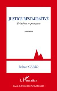 Cover Justice restaurative - principes et promesses (2e edition)