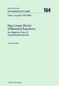 Cover Non-Linear Partial Differential Equations