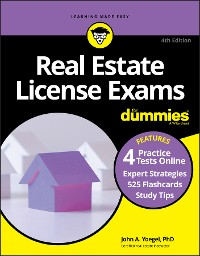 Cover Real Estate License Exams For Dummies with Online Practice Tests