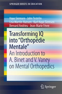 """Cover Transforming IQ into """"Orthopédie Mentale"""""""