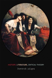 Cover History, Literature, Critical Theory