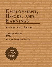 Cover Employment, Hours, and Earnings 2012