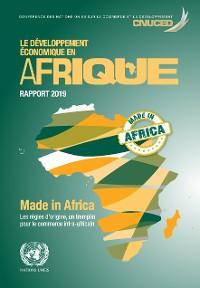 Cover Le développement economique en Afrique rapport 2019