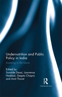 Cover Undernutrition and Public Policy in India
