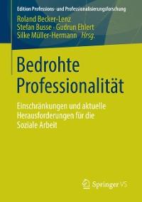 Cover Bedrohte Professionalität