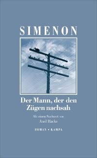 Cover Der Mann, der den Zügen nachsah