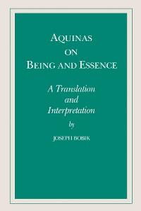 Cover Aquinas on Being and Essence