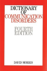 Cover Dictionary of Communication Disorders