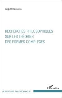 Cover Recherches philosophiques sur les theories des formes complexes