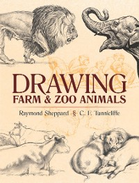 Cover Drawing Farm and Zoo Animals