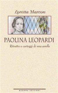Cover Paolina Leopardi.