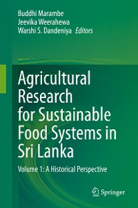 Cover Agricultural Research for Sustainable Food Systems in Sri Lanka