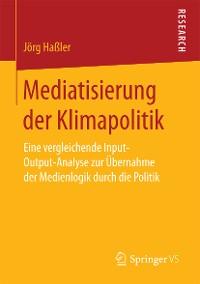 Cover Mediatisierung der Klimapolitik
