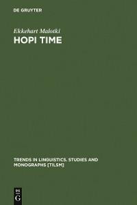 Cover Hopi Time