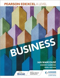 Cover Pearson Edexcel A level Business
