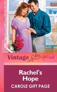Cover Rachel's Hope (Mills & Boon Vintage Love Inspired)