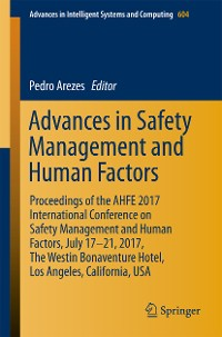 Cover Advances in Safety Management and Human Factors