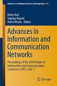 Cover Advances in Information and Communication Networks