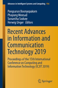 Cover Recent Advances in Information and Communication Technology 2019