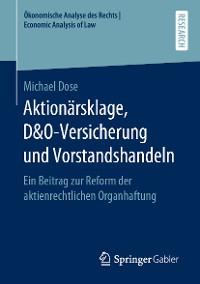 Cover Aktionärsklage, D&O-Versicherung und Vorstandshandeln