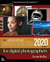 Cover Photoshop Elements 2020 Book for Digital Photographers