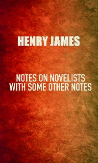 Cover Notes on Novelists