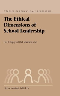 Cover Ethical Dimensions of School Leadership
