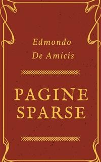 Cover Pagine sparse
