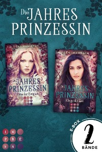 """Cover Die Jahresprinzessin: Sammelband zur märchenhaften Fantasy-Serie """"Die Jahresprinzessin"""""""