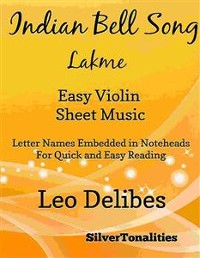 Cover Indian Bell Song Lakme Easy Violin Sheet Music