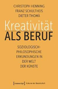 Cover Kreativität als Beruf