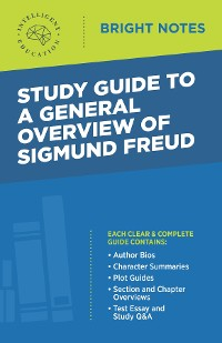 Cover Study Guide to a General Overview of Sigmund Freud