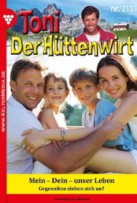 Cover Toni der Hüttenwirt 213 – Heimatroman