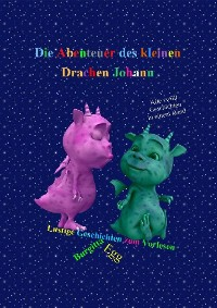 Cover Die Abenteuer des kleinen Drachen Johann