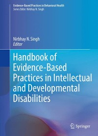 Cover Handbook of Evidence-Based Practices in Intellectual and Developmental Disabilities