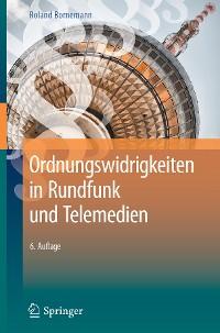 Cover Ordnungswidrigkeiten in Rundfunk und Telemedien