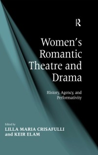 Cover Women's Romantic Theatre and Drama