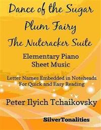 Cover Dance of the Sugar Plum Fairy Nutcracker Suite Elementary Piano Sheet Music