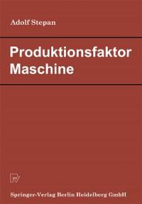 Cover Produktionsfaktor Maschine