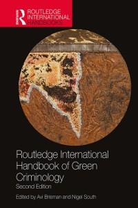 Cover Routledge International Handbook of Green Criminology