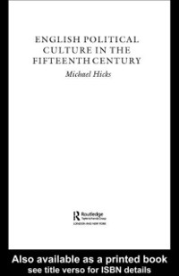 Cover English Political Culture in the Fifteenth Century