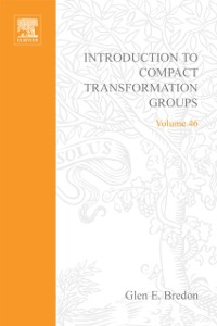 Cover Introduction to Compact Transformation Groups