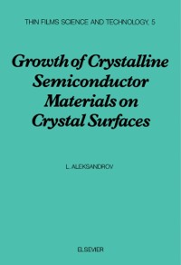Cover Growth of Crystalline Semiconductor Materials on Crystal Surfaces
