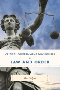 Cover Critical Government Documents on Law and Order