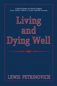 Cover Living and Dying Well
